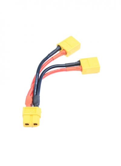 2x Male to 1x Female XT60 Battery Lead