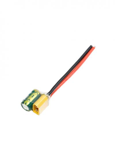 XT60 Pigtail with Capacitor Set 2-4S (1000UF/2200UF 25V)