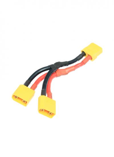 XT90 Y lead Parallel Battery Harness Female to 2x Male