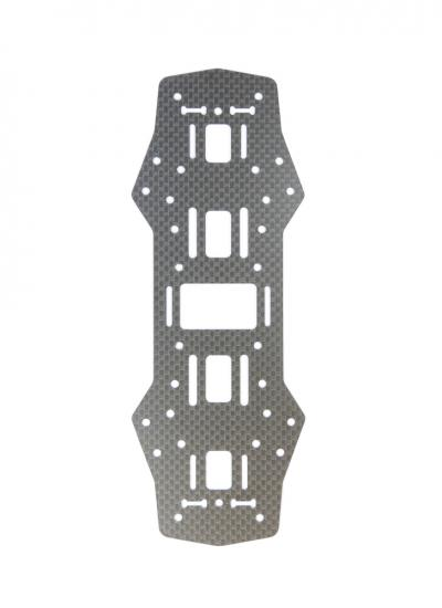 Carbon Fibre Middle Board Spare Part For ZMR / QAV 250 (1.5mm)