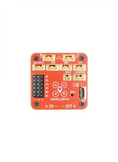 iNav F4 Wing Flight Controller with Built-in OSD & Battery Monitoring - GPS Included