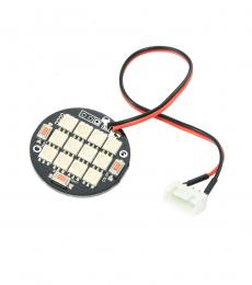 Multi Colour 12 LED Circular Light Board with 3/4S JST-XH Connector
