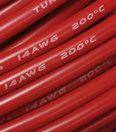 Cable 14 AWG Red