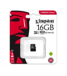 Kingston 16GB Class 10 Micro-SD Flash Card