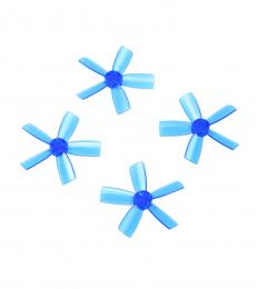 1735 5 Blade Propeller Set for DYS ELF (2CW & 2CCW) - Blue