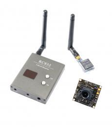 FPV Kit - Camera, 200mW Tx, Rx