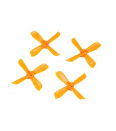 2035 4 Blade Propeller Set for DYS Shark Mako (2CW & 2CCW) - Orange