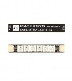Matek 2812 Arm Light 6X RGB LED (4PCs)