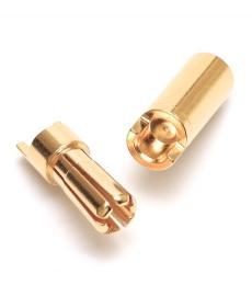 5.5mm Bullet Connectors Pair