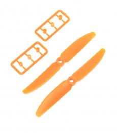 Spare Plastic 5030 (CW/CCW) Propellers For DYS BG-250 - Orange