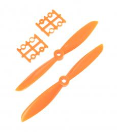 FPV Racing Drone 6045 6X45 Plastic Nylon Propeller Set CW/CCW - Orange