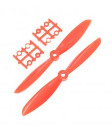 Racing Drone 6045 6X45 Plastic Nylon Propeller Set CW/CCW - Red