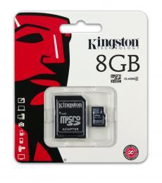 Kingston 8GB Class 4 Micro-SD Flash Card