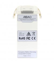 Walkera Aibao Spare Part 7.6V 2S 5200mAh LiPo Battery AIBAO-Z-26