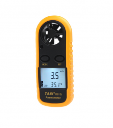 Mini Digital Anemometer Wind / Temperature Handheld Meter