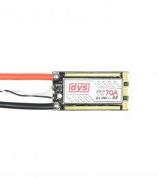DYS ARIA 70A 3-6S BLHeli 32Bit Dhsot 1200 3-6S OPTO ESC with LED & Current Sensor