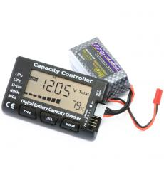Digital Battery Capacity Checker