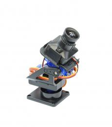2 Axis Pan & Tilt FPV Camera Mount with Servos Included