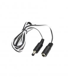 5.5mm DC Power Socket Extension Lead - 1M