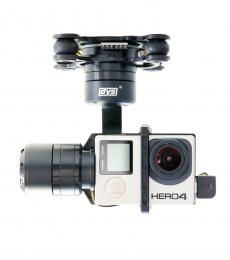 DYS Marcia 3 Axis 360 Degree Unlimited Rotation GoPro Brushless Gimbal