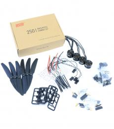 DYS 250 Racing Drone Power Pack Set Including 2300Kv Motor, BLHeli ESC and 5030 Props