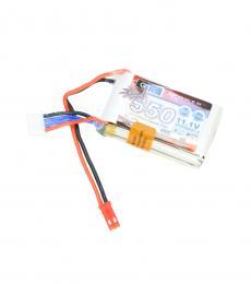 Dualsky G5 Xpower 3S 11.1V 550mAh 45C LiPo Battery - JST