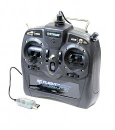 Dynam Detrum 8-Channel USB Flight Simulator Transmitter