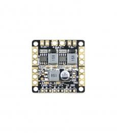 Mini FPV Power Distribution Board with LC Filtered 5V & 12V BECs (36x36mm)