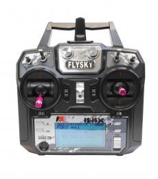 FlySky FS-i6X 10CH Transmitter & FS-X6B 2.4GHz iBUS PPM Telemetry Receiver (Mode 2)