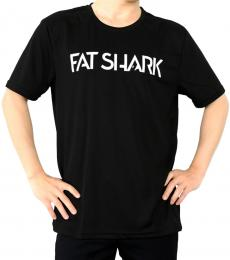 Fat Shark Black T-shirt - Large