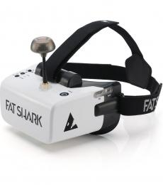 Fat Shark Scout Box Style FPV Goggle with Diversity RX & DVR
