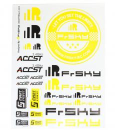 FrSky Sticker Sheet