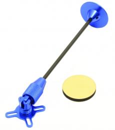 Folding GPS Antenna Mount - Blue