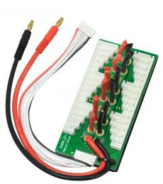 Parallel Charging Board for 6 Packs (2-6S) - Bare Leads