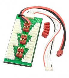Deans (T-Plug) Parallel Charging Board (2-6S JST-XH)