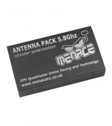 Menace Circular Polarised FPV Antenna Pack 5.8Ghz - RHCP