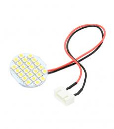 White 24 LED Circular Light Board with 3S JST-XH Connector