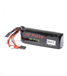 RC Transmitter LiPo Battery 11.1V 2200mAh 8C For DEVO 7, JR, Futaba
