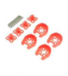Motor Guard Protector with Landing Gear - Red