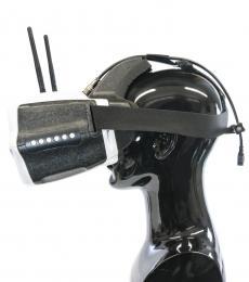 Skyzone SJ-V01 FPV 7 Inch Headset with 40CH Diversity Rx, HDMI Input