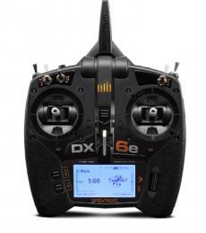 Spektrum DX6E 6CH Transmitter & AR610 2.4GHz Receiver (EU)