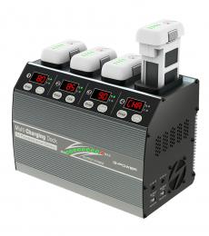 SkyRC 4P3 Charging Station for Phantom 3 & 4 Smart Battery