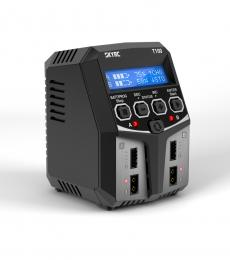 SkyRC T100 Dual Output AC Charger 50W(X2) 5A 2-4S