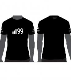 TBS 99 Cotton T-Shirt - Black