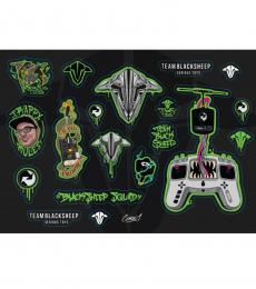 TBS Sticker Sheet - Corey (19 Stickers)