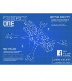 TBS Source One V4 5inch Racing Drone Frame