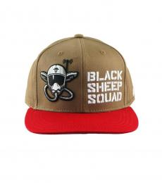 Black Sheep Squad Cap Brown and Red