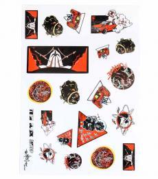 Team Black Sheep TBS Sticker Sheet (Version C)