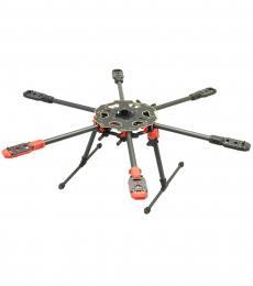 Tarot 680 PRO Carbon Fibre Foldable Hexacopter Frame TL68P00