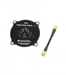 Triple Feed Circular Polarized FPV Patch Antenna